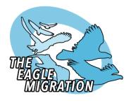 The Eagle Migration registration logo