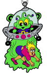 The Extraterrestrial Abductions Day 5K and 10K registration logo