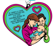 The Foster Love 5K & 10K registration logo