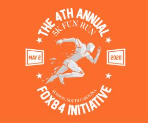 The Fox84 Initiative 5K Fun Run/Walk registration logo