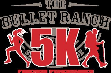 The Friends of The Bullet Ranch 5K registration logo