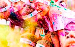 The Fun Color Run registration logo