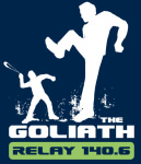 The Goliath Race registration logo