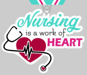 The Grateful for Nurses 5K & 10K registration logo