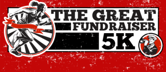 The Great Fundraiser 5K registration logo