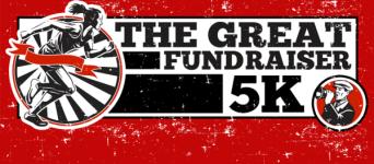 The Great Fundraiser 5K registration logo