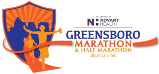 The Greensboro Marathon registration logo