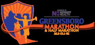 The Greensboro Marathon registration logo