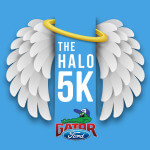 The HALO 5K and Family Fun Run registration logo