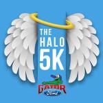The HALO 5K and Family Fun Run registration logo