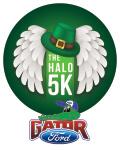 The HALO 5K registration logo