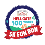 THE HELLGATE '100 YEARS' 5K FUN RUN registration logo