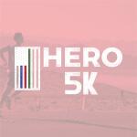 The Hero Half registration logo