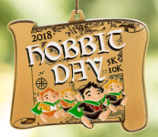 The Hobbit Day 5K & 10K - Journey to Middle Earth registration logo