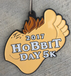 The Hobbit Day 5K registration logo