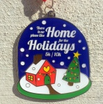 The Home for the Holidays 5K & 10K registration logo