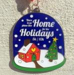 The Home for the Holidays 5K & 10K registration logo