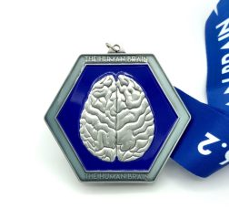 ON SALE - The Human Brain 1M 5K 10K 13.1 26.2 registration logo