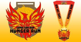 The HUNGER Run registration logo