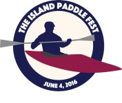 The Island Paddle Fest registration logo