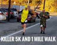 The Killer 5K and 1 Mile Walk registration logo