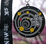 The Mental Health Zone 5K Now Only $12 registration logo
