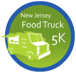 The NJ Food Truck 5K registration logo