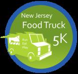 The NJ Food Truck 5K registration logo