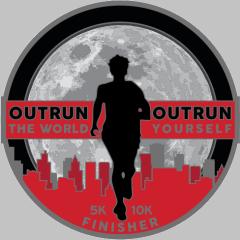 THE OUTRUN registration logo