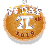 The Pi Day 5K registration logo
