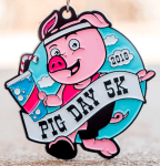 The Pig Day 5K-Clearance from 2018 registration logo