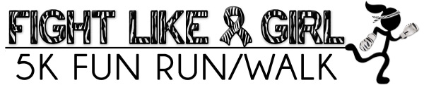 The PM Foundation 5k race for Kristy Carpenter registration logo