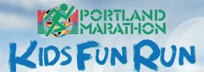 The Portland Marathon Kids Virtual Fun Run registration logo