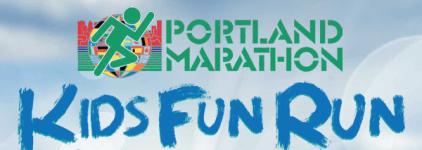 The Portland Marathon Kids Virtual Fun Run registration logo