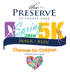 The Preserve 5K registration logo