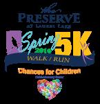 The Preserve 5K registration logo