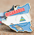 The Race Across Nicaragua-Clearance from 2017 registration logo