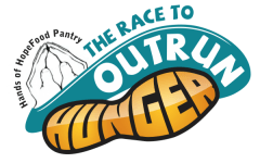 The Race To Outrun Hunger registration logo