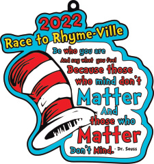The Race to Rhyme-Ville 1M 5K 10K 13.1 26.2