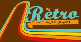 The Retro Run 5k Run/Walk registration logo
