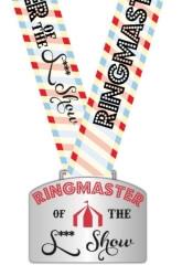 The Ringmaster 5K 10K registration logo