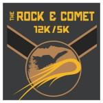 The Rock & Comet 12k/5k registration logo