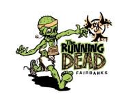The Running Dead Fairbanks registration logo