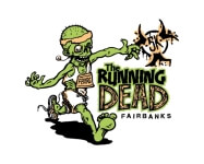 The Running Dead Fairbanks registration logo