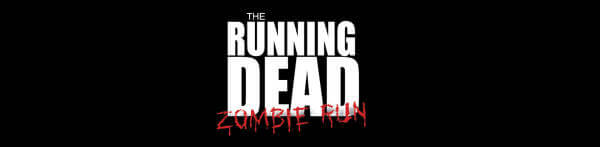 The Running Dead Zombie Run registration logo