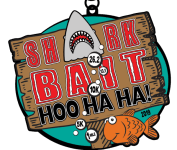 SHARK BAIT HOO HA HA 1 MILE, 5K, 10K, 13.1, 26.2 registration logo