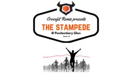 The Stampede CrossFit Challenge registration logo