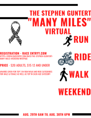 The Stephen Guentert -  Many Miles - Weekend registration logo