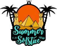 The Summer Solstice 6.21 Mile registration logo