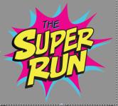 The Super Run 5K- registration logo